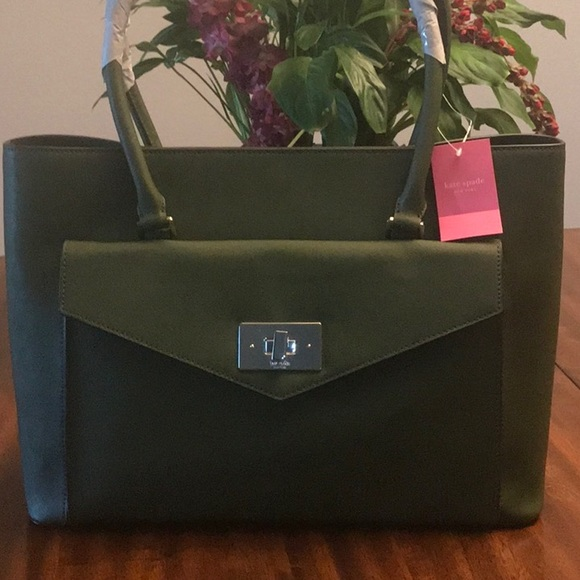 kate spade Handbags - KATE SPADE HALSEY TOTE BAG LEATHER